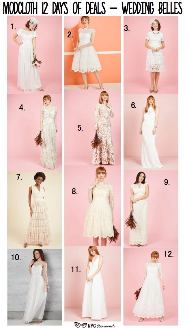 Modcloth\'s 12 Days of Deals: 25 percent off + Modcloth wedding style ...