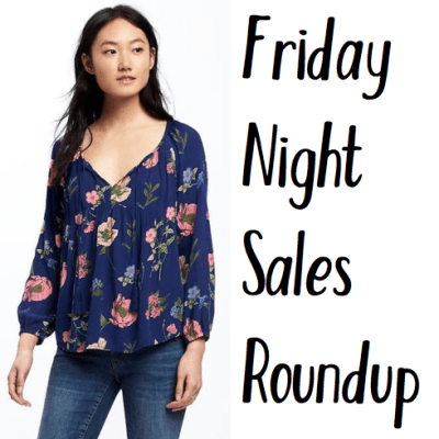 Friday Night Sales Roundup