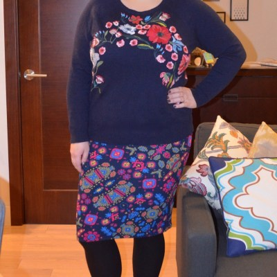 What NYC Recessionista Wears: LOFT sweater