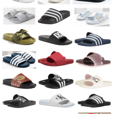 Spring 2017 Trends: Athletic Slides