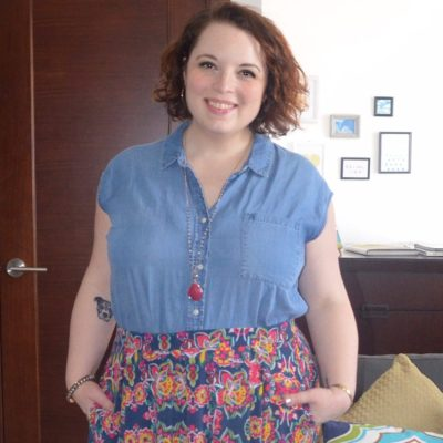 What NYC Recessionista Wears: LuLaRoe Skirt