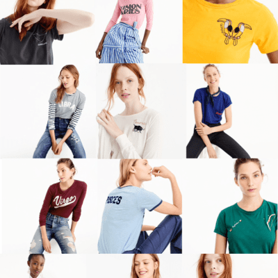J.Crew horoscope t-shirts are my new obsession