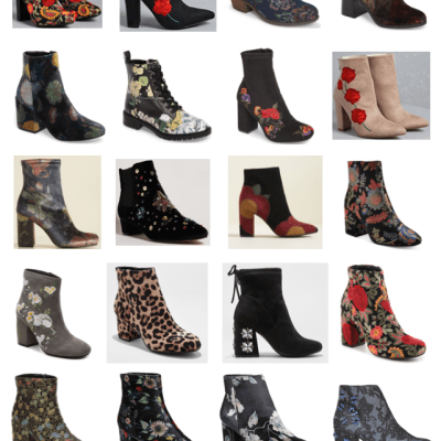 24 pairs of bold boots for fall