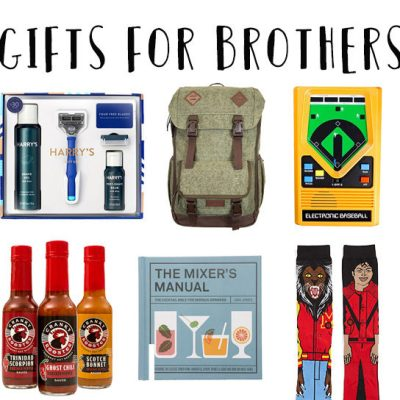 The Coolest Holiday Gifts for Brothers
