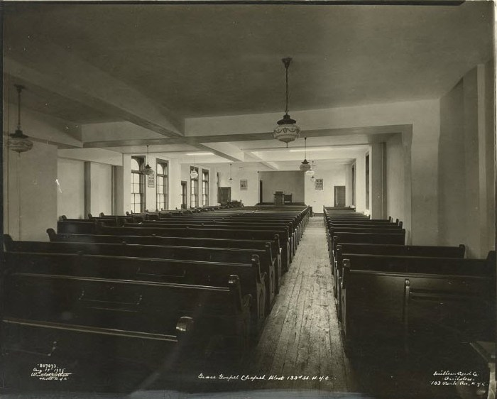 Grace Gospel Chapel, 1925