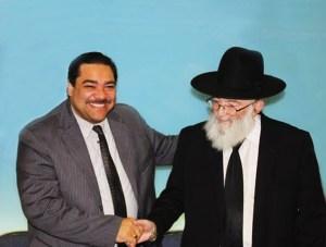 Rabbi and Delgado