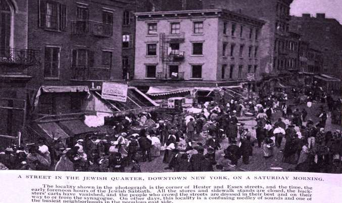 Sabbath Day at Hester & Essex Streets. Photo from 1890s by Christian Herald.