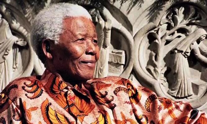 Mandela at Riverside Church, NYC
