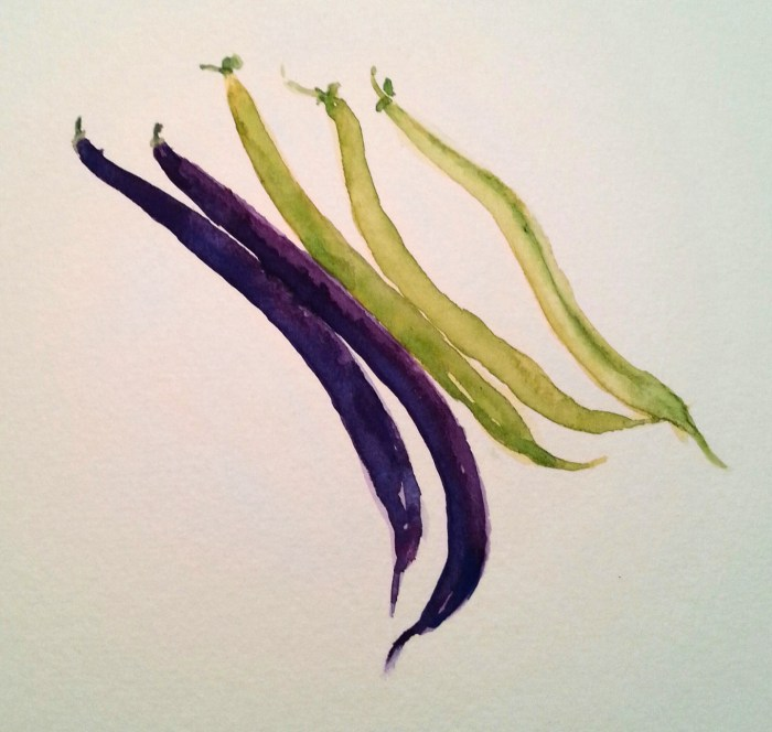 The Garden String Beans by Darilyn Carnes/A Journey through NYC religions