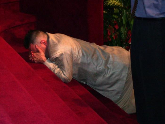 Mercy! he said. Photo: Tony Carnes/A Journey through NYC religions