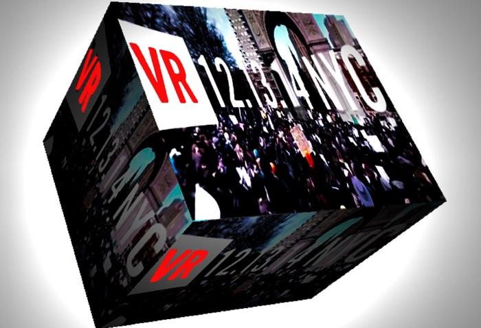 VR Vice Eric Garner demonstration