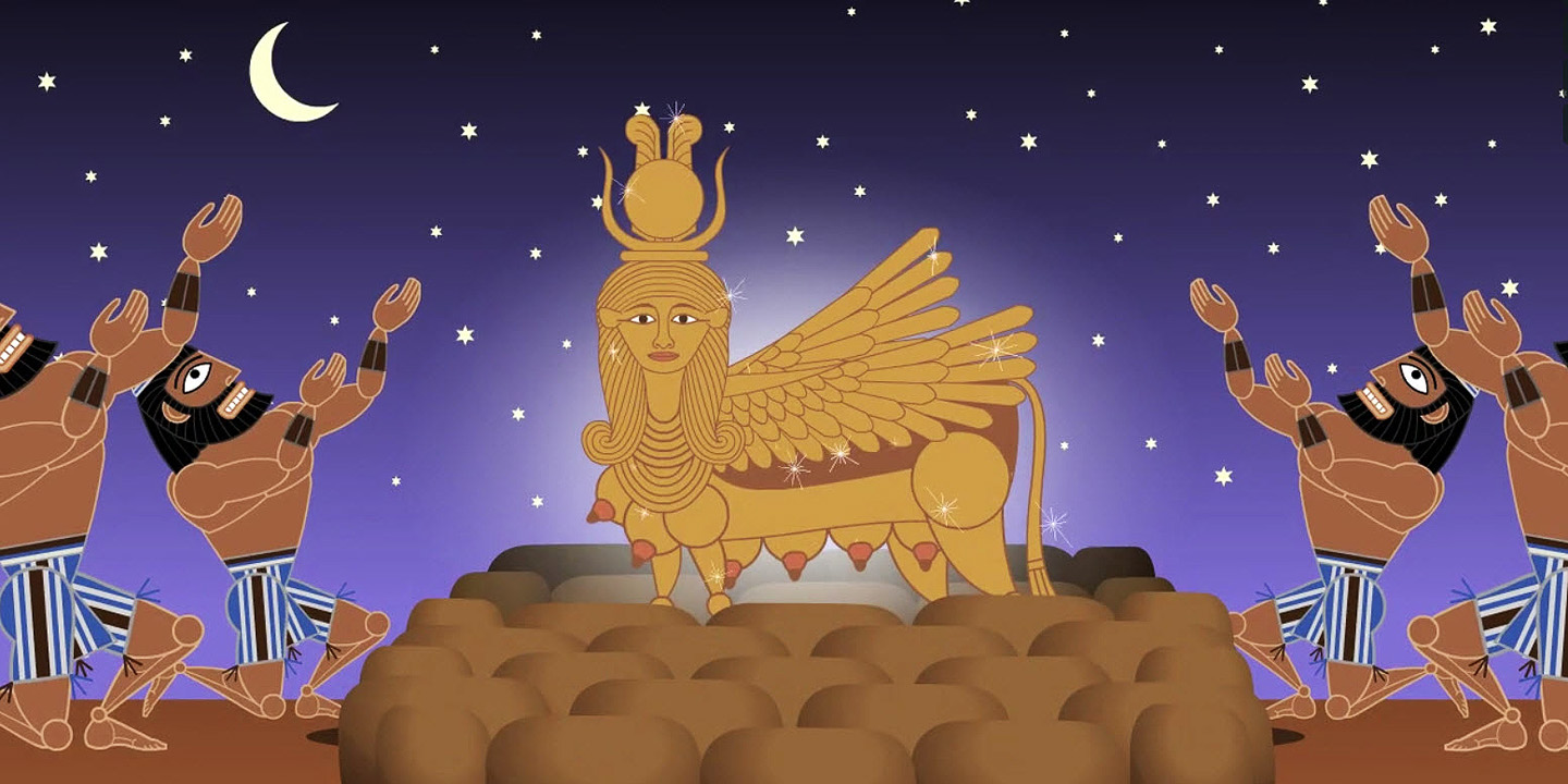 Moses make-over by animator Nina Paley will have you grooving › A