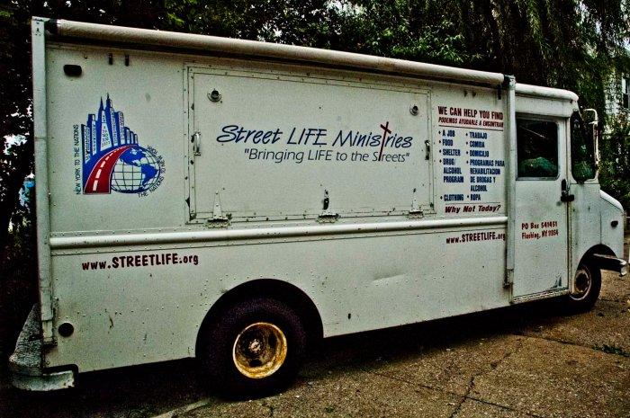 Street Life Ministries Van