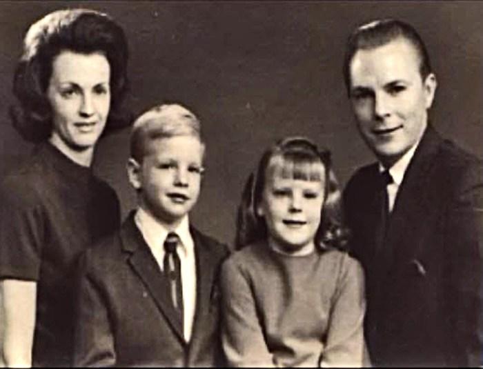 Jan, Brian, Carolyn and Robert Johansson. Photo: Evangel Church