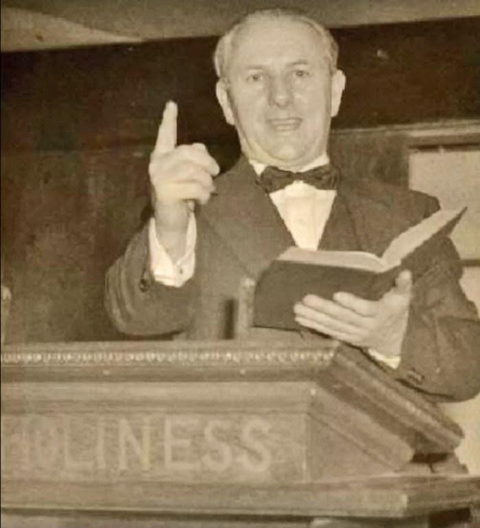 Johansson's grandfather Reverend Evan Williams