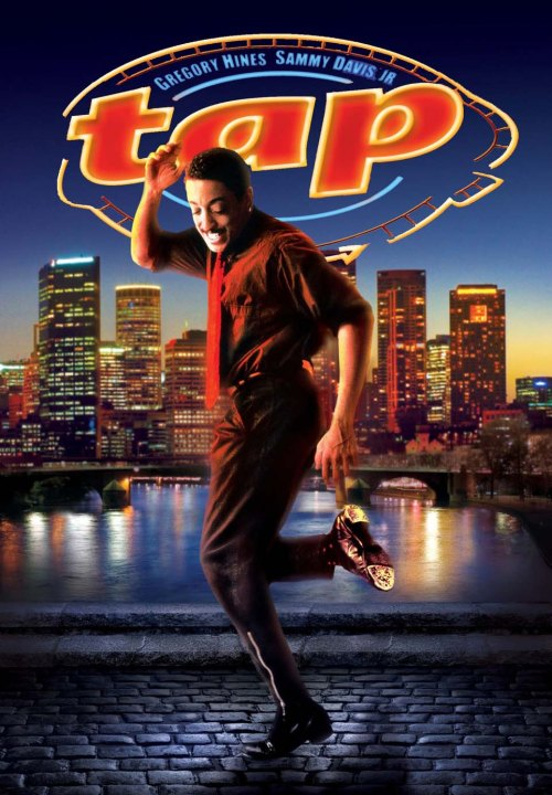 """Movie poster of Gregory Hines in """"Tap"""""""