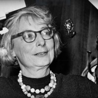 Jane Jacobs -- the woman who stopped the bulldozing of Washington Square Park