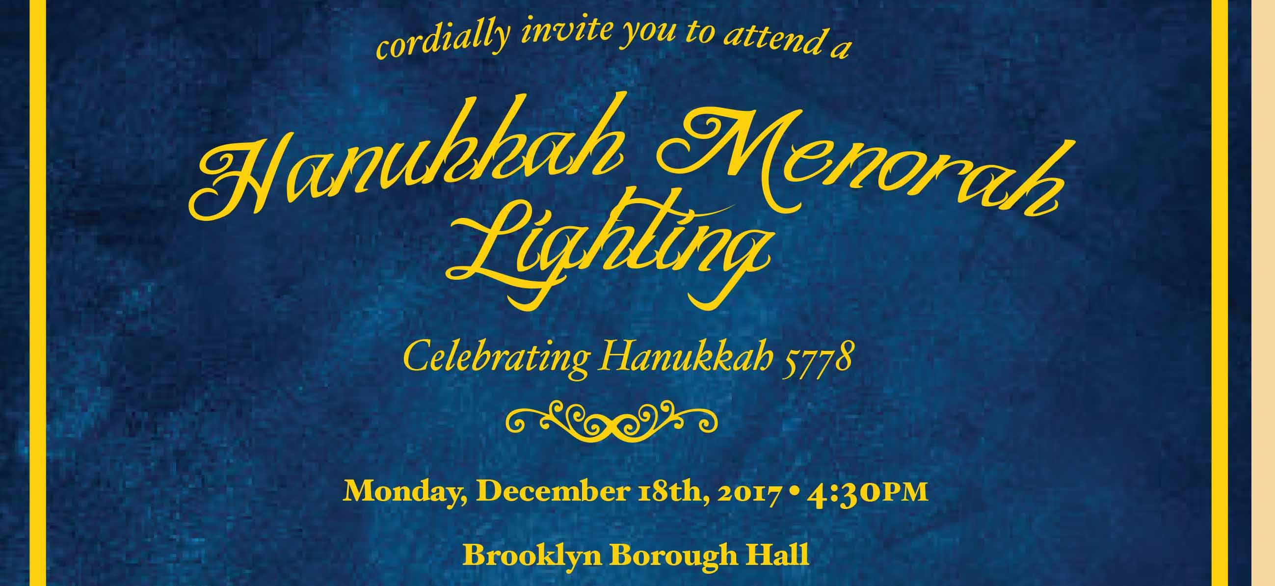 Menorah Lighting at Brooklyn Boro Hall today!  sc 1 st  A Journey through NYC religions & Menorah Lighting at Brooklyn Boro Hall today! u203a A Journey through ... azcodes.com
