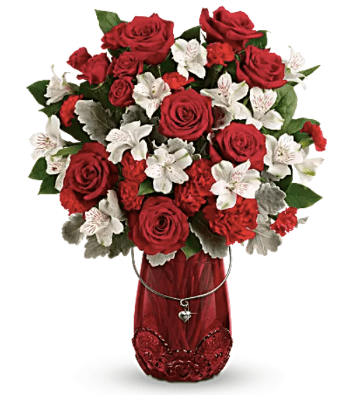 Gift Your Loved One A Teleflora Valentines Day Bouquet