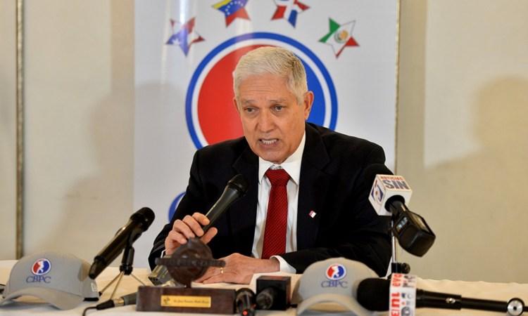 Comisionado de Béisbol Profesional del Caribe, Juan Francisco Puello Herrera.