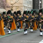 Saint Patrick's Day Parade Installs Grand Marshal And Aides at Reception at Antun's