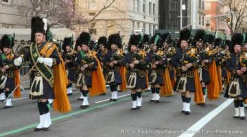 Saint Patrick's Day Parade Installs Grand Marshal And Aides at Reception at Antun's