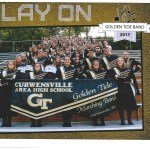 The Curwensville Golden Tide Marching Band