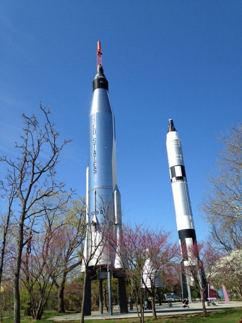 Rocket Park at the New York Hall of Science - Explore NYC with us - https://www.nyctechmommy.com/my-city-play-in-new-york-city-summer-series/