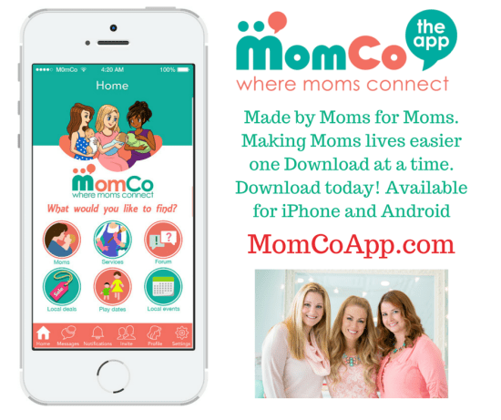 MomCo App - The new must-have app for moms - click the link to learn more http://wp.me/p5Jjr7-pw