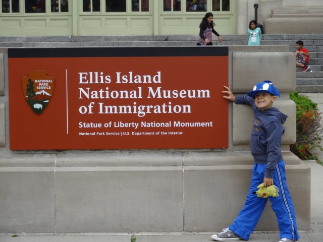 Ellis Island - Great place to visit with kids!