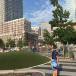 Gantry Plaza State Park - Long Island City, Queens NYC - A great place to enjoy the city views - Click the link to read more -