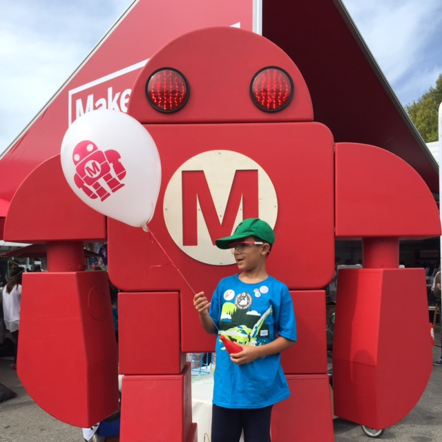 Check out all the fun we had at Maker Faire and find an event near you - click the link -