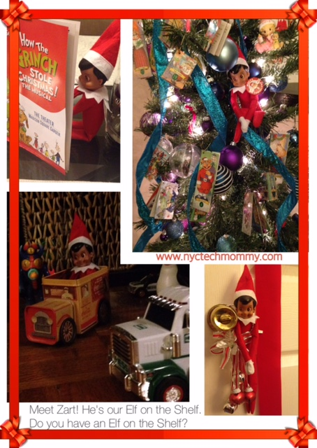 Does your family have an Elf on the Shelf? See what our elf has been up to!