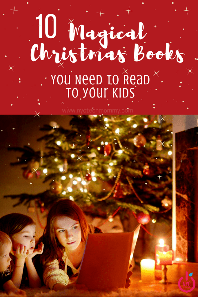 Start a new holiday tradition! Here are 10 magical Christmas books you need to read to your kids - check out our list, including links to buy our favorites!