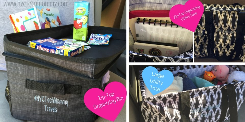 Thirty-One Products Keep Me Organized! Check out my three tips to get your car and kids organized!