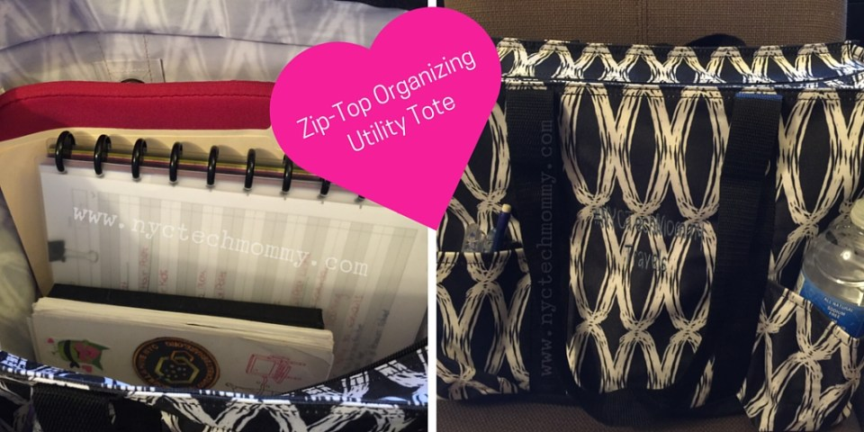 Zip-Top Organizing Utility Tote from Thirty-One