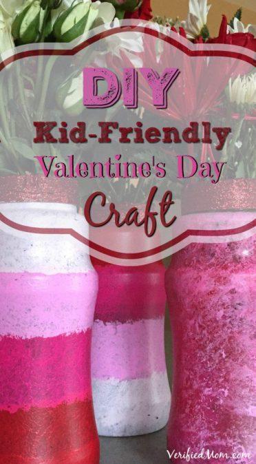 DIY Kid Friendly Valentines Day Craft