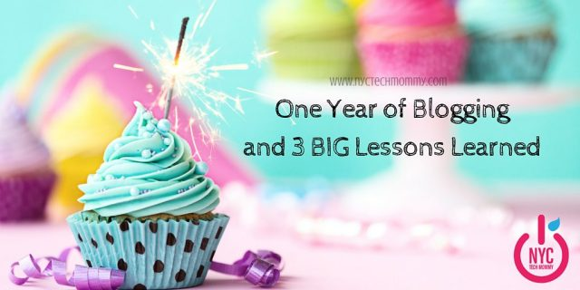 It's my one year blog anniversary! Let's celebrate together! Here are 3 Big Lessons I learned