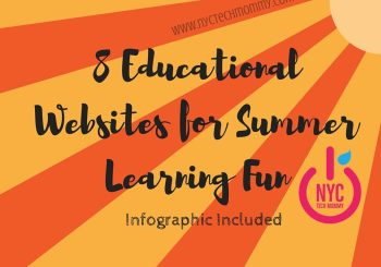 Educational Websites for Summer Learning Fun - Help your kids avoid the 'summer slide' with these fun educational websites - infographic included