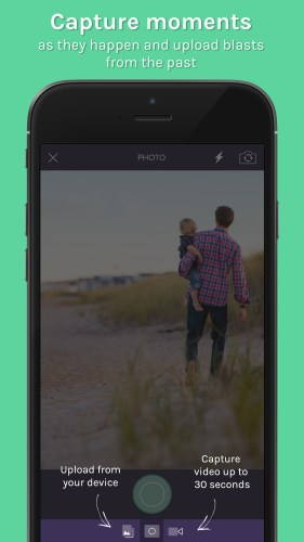 Trunq app - capture moments