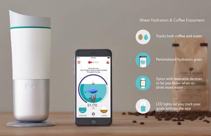 OzmoJava+ Water Hydration and Coffee Enjoyment - Find ideal hydration with Ozmo