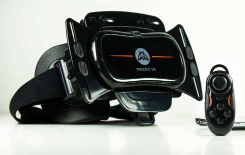Freefly VR Headset - This one made our list of the BEST VR HEADSETS FOR DAD