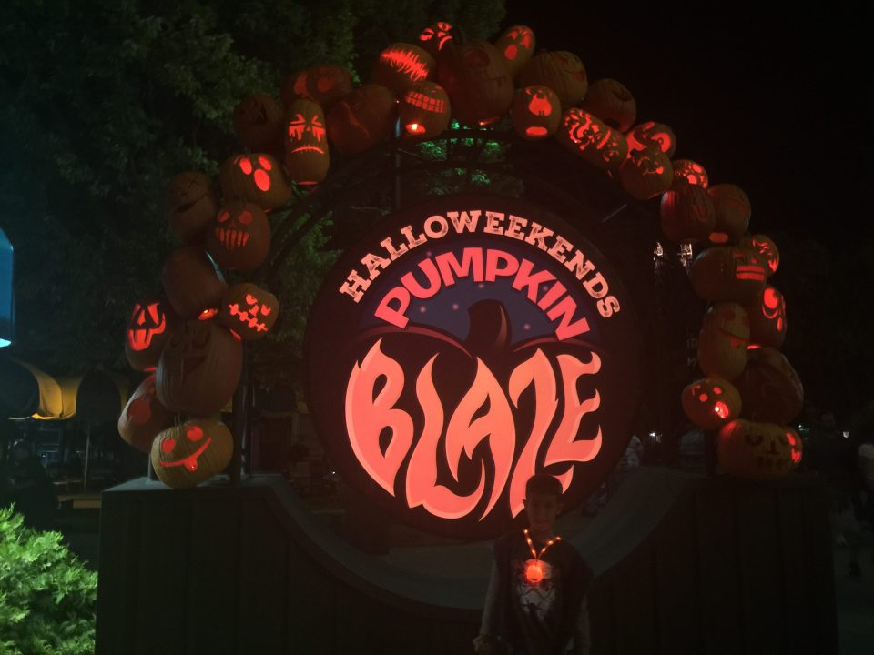 HalloWeekends at Cedar Point - Pumpkin Blaze