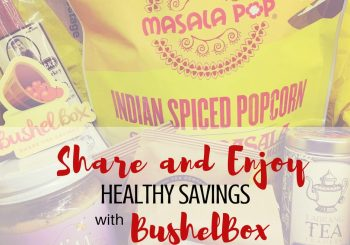 Looking for healthy snacks at big savings? Share and enjoy healthy savings with BushelBox - Find out how you and your friends can shop and save together!