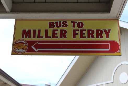 Bus to Miller Ferry
