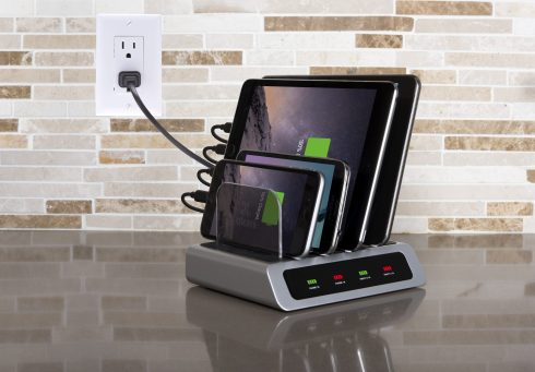 Charge All Your Devices at Once with Atomi Charging Station - Review & Giveaway