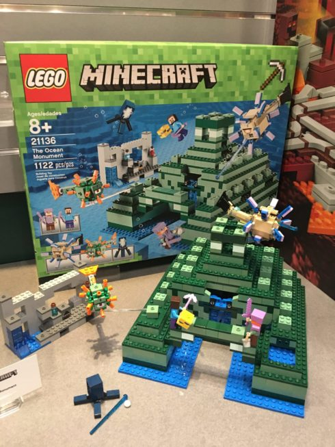 Cool New Toys Unveiled at Toy Fair 2017 - LEGO Minecraft - The Ocean Monument