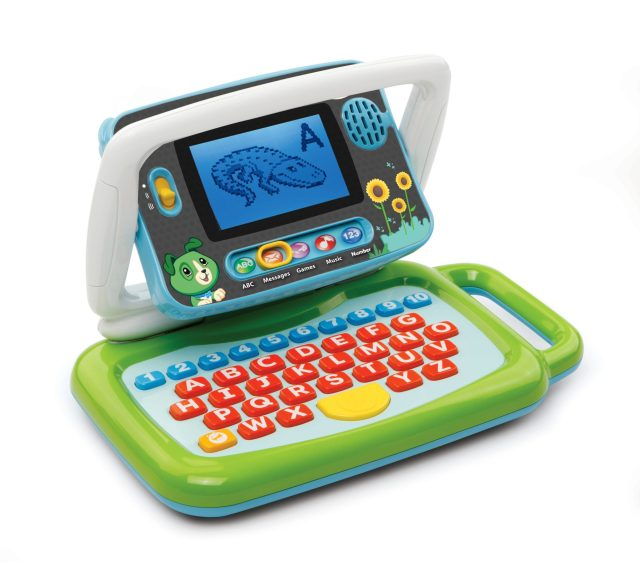 Cool New Toys Unveiled at Toy Fair 2017 - LeapFrog 2-in-1 LeapTop Touch_transformation
