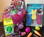 How to Fill a Perfectly Fun NO CANDY Easter Basket