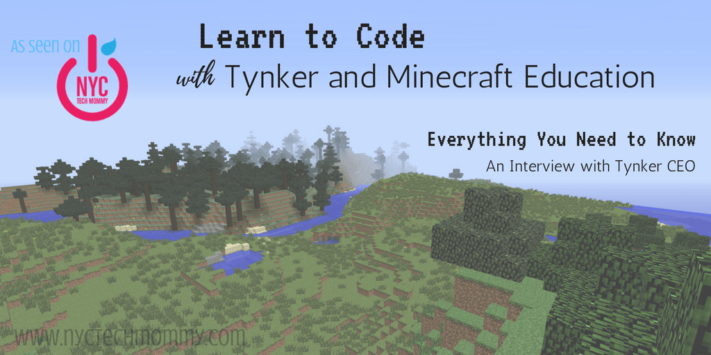 Learn to Code with Tynker and Minecraft Education
